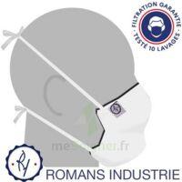 Masque Alternatif - Romans Industrie - Blanc à BRIÉ-ET-ANGONNES