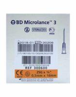 Bd Microlance 3, G25 5/8, 0,5 Mm X 16 Mm, Orange  à BRIÉ-ET-ANGONNES