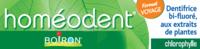 Boiron Homéodent Soin Complet Dents Et Gencives Pâte Dentifrice Chlorophylle Format Voyage T/25ml à BRIÉ-ET-ANGONNES
