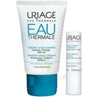 Uriage Eau Thermale Crème D'eau Mains T/30ml+stick Lèvres à BRIÉ-ET-ANGONNES
