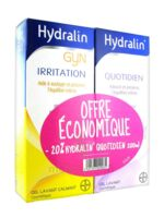 Hydralin Quotidien Gel Lavant Usage Intime 200ml+gyn 200ml à BRIÉ-ET-ANGONNES