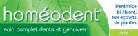 Boiron Homéodent Soin Complet Dents Et Gencives Pâte Dentifrice Anis 2t/75ml à BRIÉ-ET-ANGONNES
